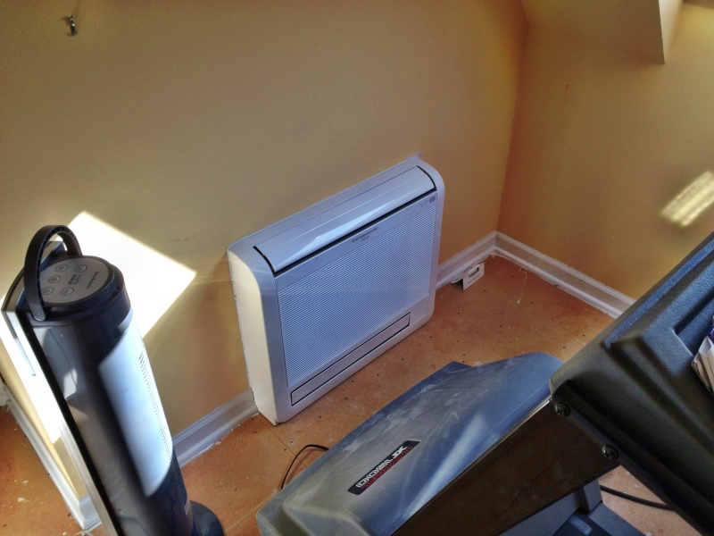 our ductless air heat pump systems are great